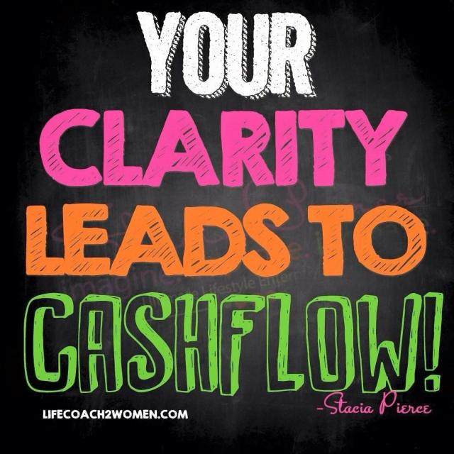 Your Clarity leads to Cashflow